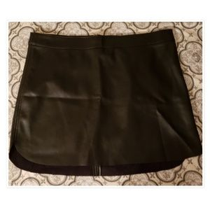 Faux Leather Forever 21 Skirt 1X